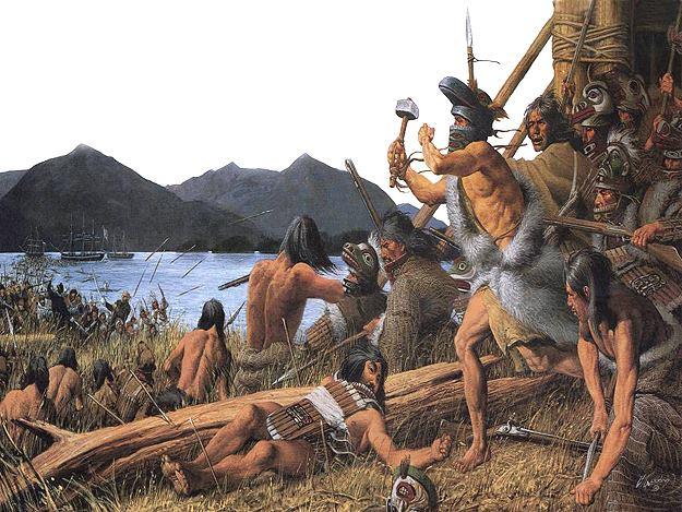 La batalla de Sitka