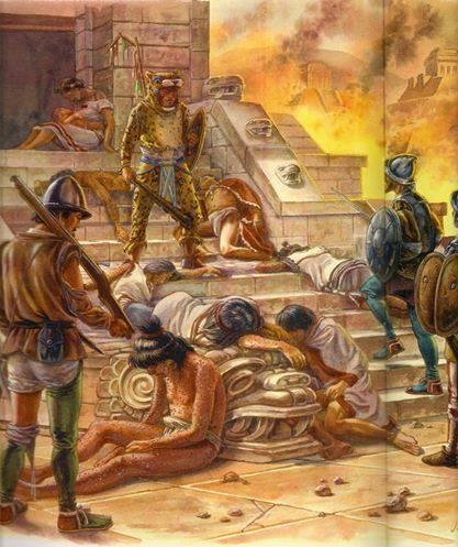 Ruina de México en Tlatelolco