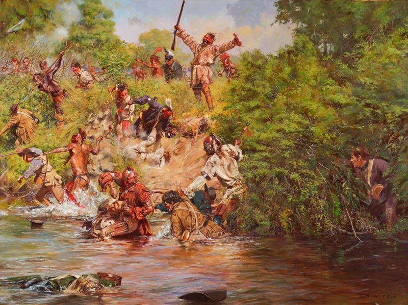 Guerrero de la cultura mississippiana