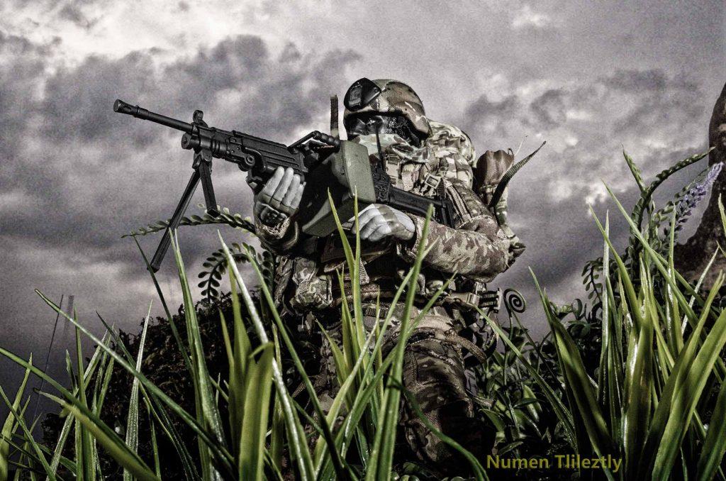 Soldado insurgente guerra civil mexicana